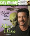 Alien Dave in City Weekly